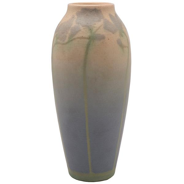 Charles McLaughlin (1888-1964) for Rookwood Pottery Violet vase, #295E 3.5