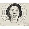 Thelma Johnson Streat (American, 1912-1959) Portrait of Marian Anderson, Thelma Johnson Streat, Click for value