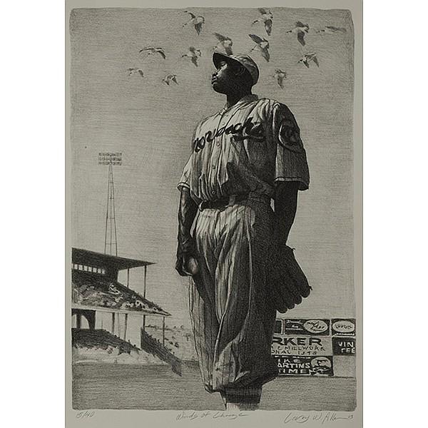 Leroy Allen (American, 1958-2007), Winds of Change