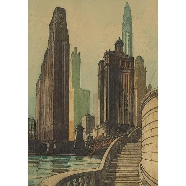 Leon R. Pescheret (American 1892-1961)