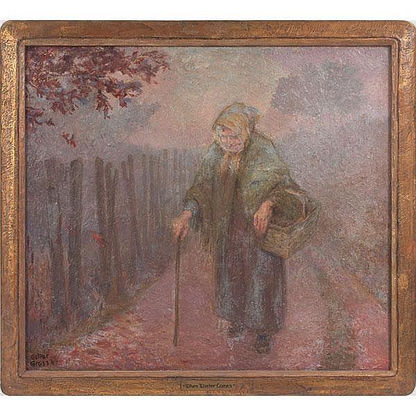 Oskar Gross (American, 1871-1963)