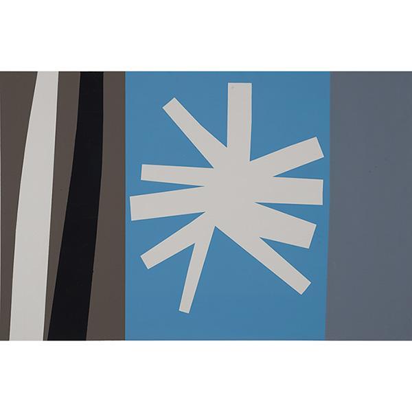 Harold Krisel, (American, 1920-1995), Untitled, 1956, silkscreen, 13