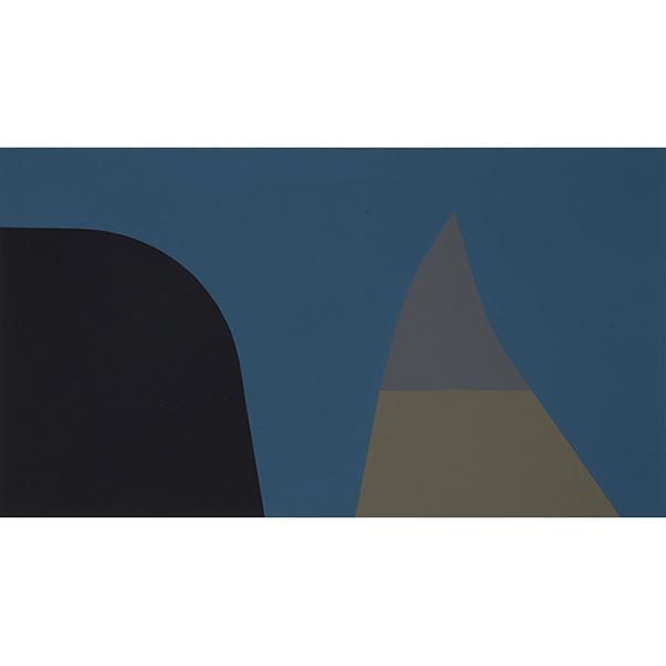 Harold Krisel, (American, 1920-1995), Silhouettes, 1964, silkscreen, 11.25