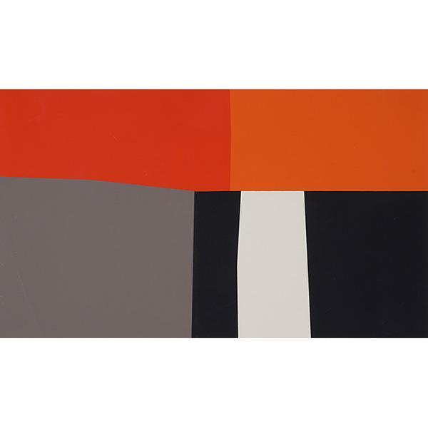 Harold Krisel, (American, 1920-1995), Summer 4, 1959, silkscreen, 12