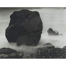 John Blakemore, (British, b. 1936), Rocks & Tide, Friog, 1977, gelatin silver print, 10 3/4