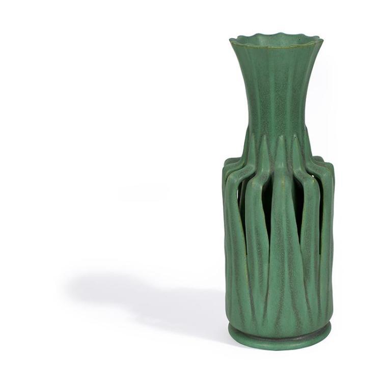 Teco William J Dodd 1862 1930 Designer Vase 85 4 12