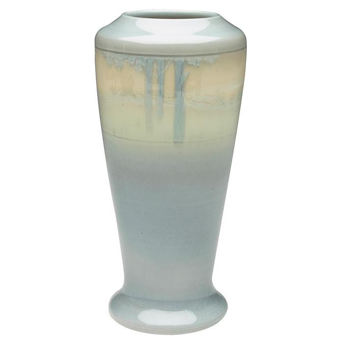 Lenore Asbury (1866-1933) for Rookwood Pottery Landscape vase, #1356L 3.5
