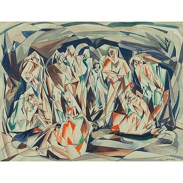 William C. Grauer  Veiled Figures