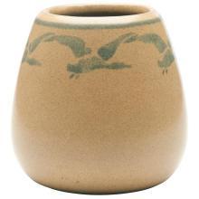 Marblehead Pottery Geese vase 3.5