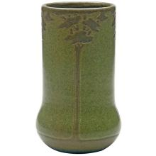 Marblehead Pottery, Maude Milner/ Sarah Tutt (1859-1947), designer Landscape vase 4