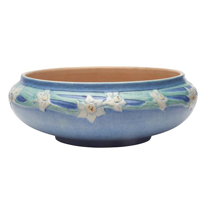 Anna Francis Simpson (1880-1930) for Newcomb College Daffodil bowl 11