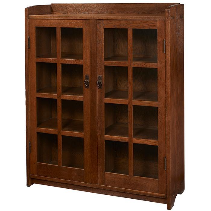 Gustav Stickley bookcase, #717 48