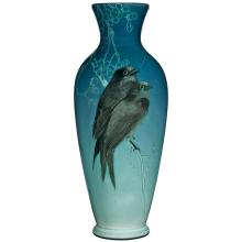 Anna Marie Valentien (1862-1947) for Rookwood Pottery Swallow vase, #562 3.75