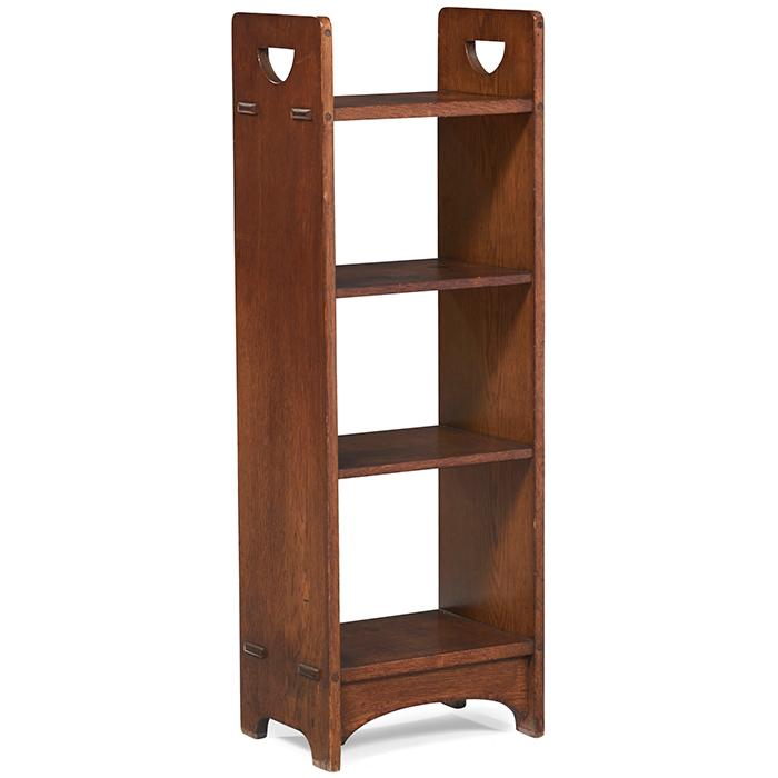 Gustav Stickley magazine stand, #79 14