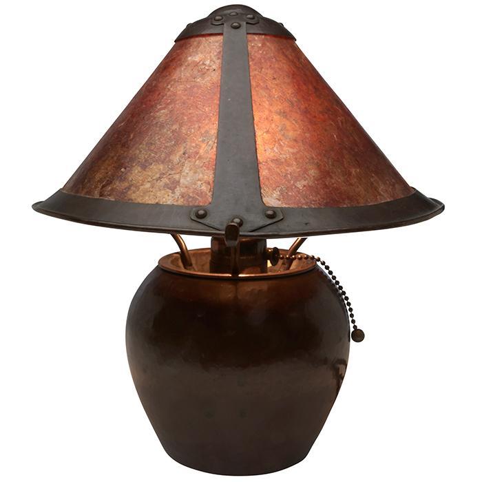 Dirk van Erp (1860-1933) table lamp 10.5