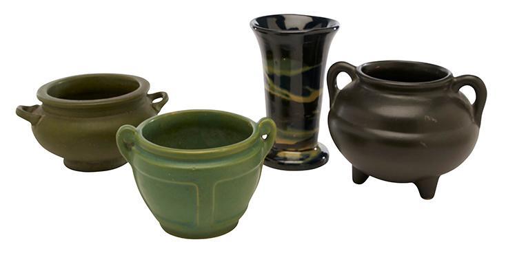 Roseville Pottery Co. Rozane Della Robbia vase 4