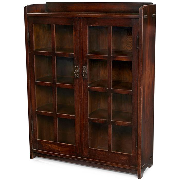 Gustav Stickley bookcase, #716 42.5