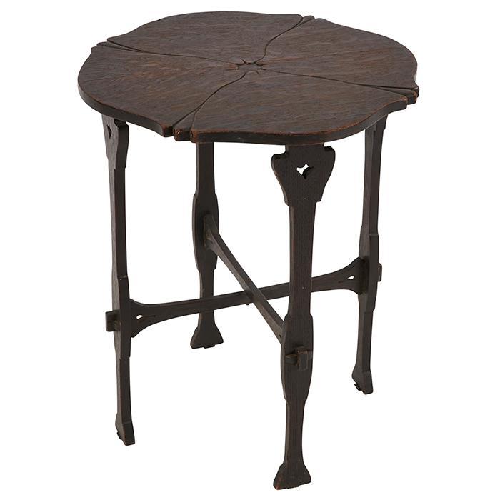 Gustav Stickley Celandine tea table, #27 20