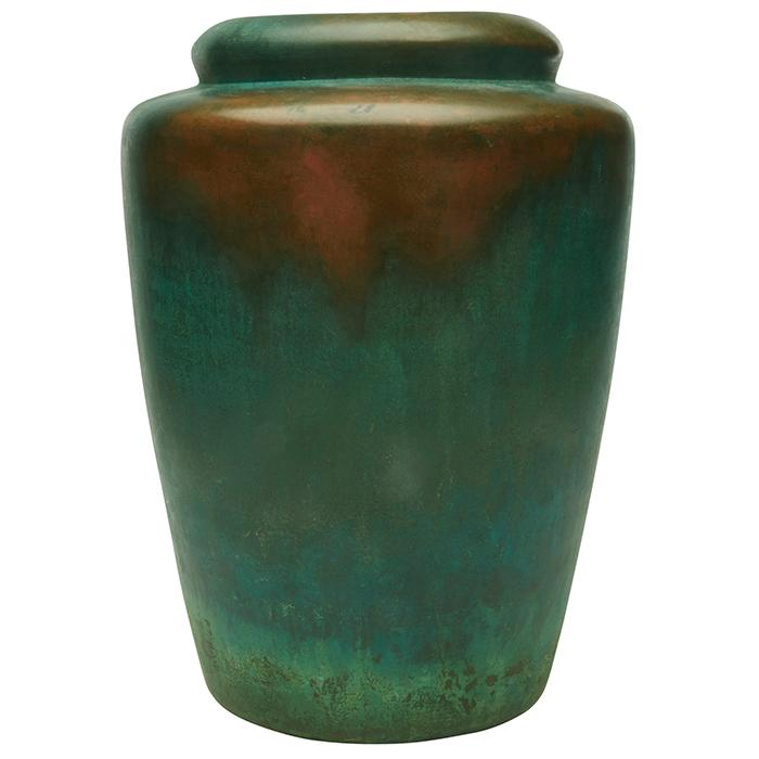 Charles Walter Clewell (1876-1965) vase, #385-25 8.5