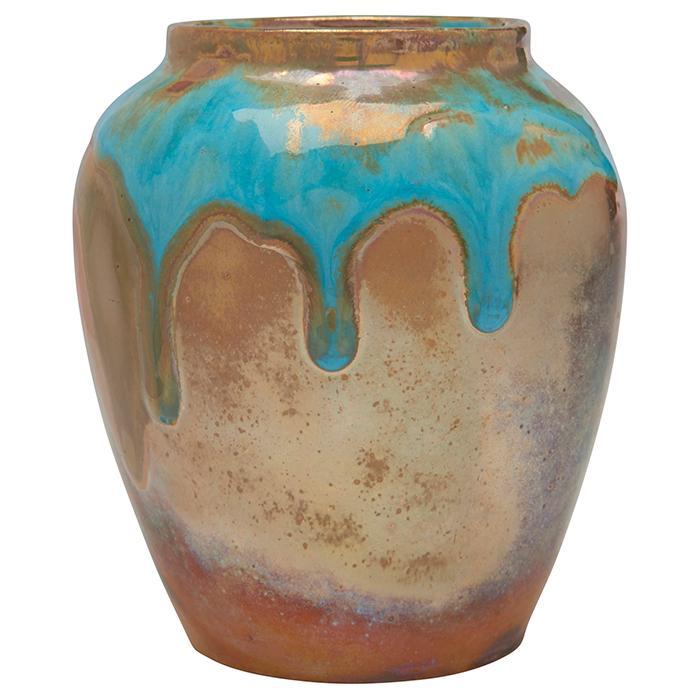 Pewabic vase 3.5