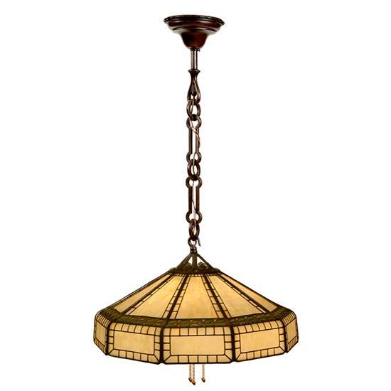 The Handel Lamp Company hanging shade 22.5