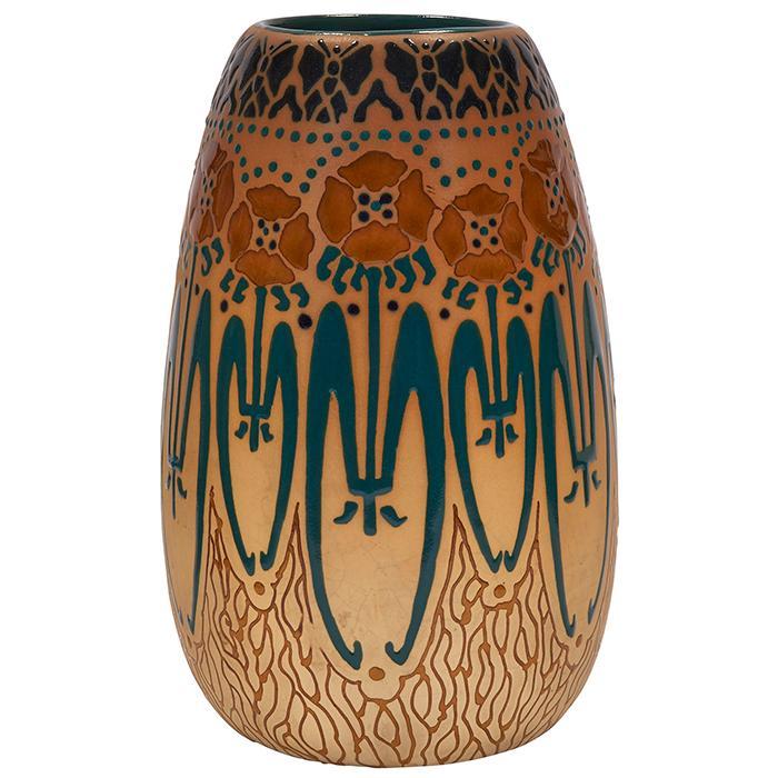 Roseville Pottery Co. Rozane Fujiyama vase 5