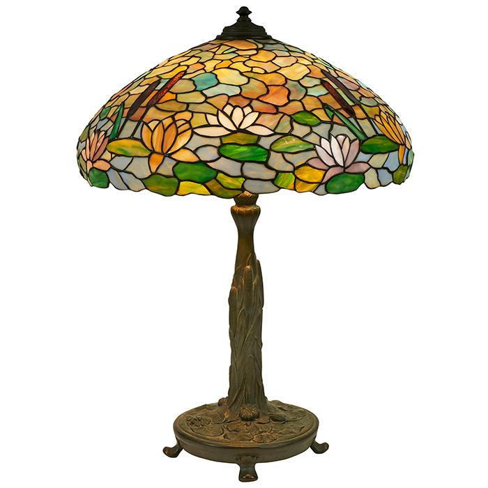 The Wilkinson Co. Water Lily table lamp, base #525 22