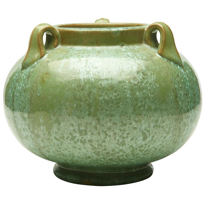 Fulper Pottery Co. three-handled vase 8