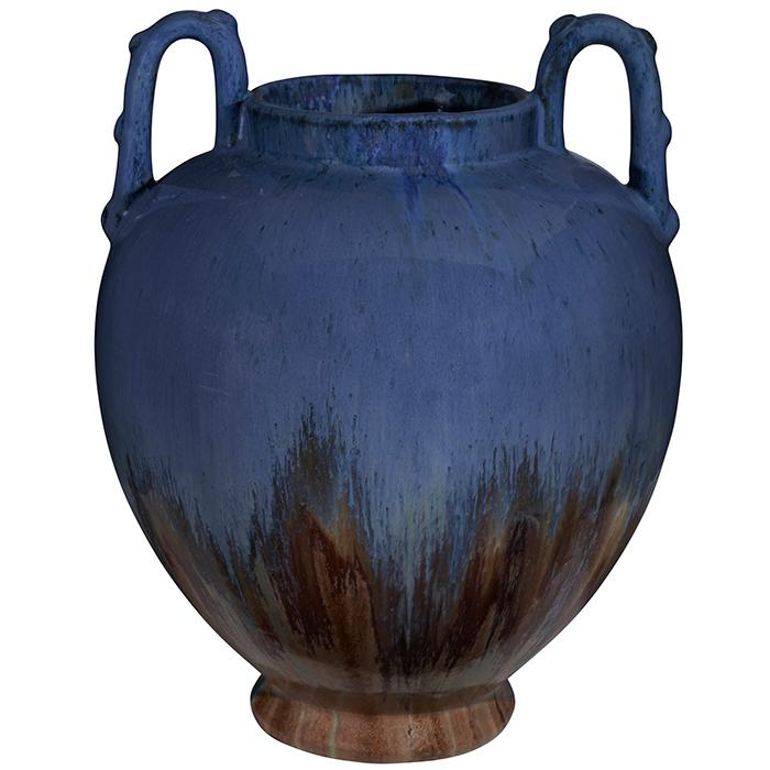 Fulper Pottery Co. two-handled vase 9