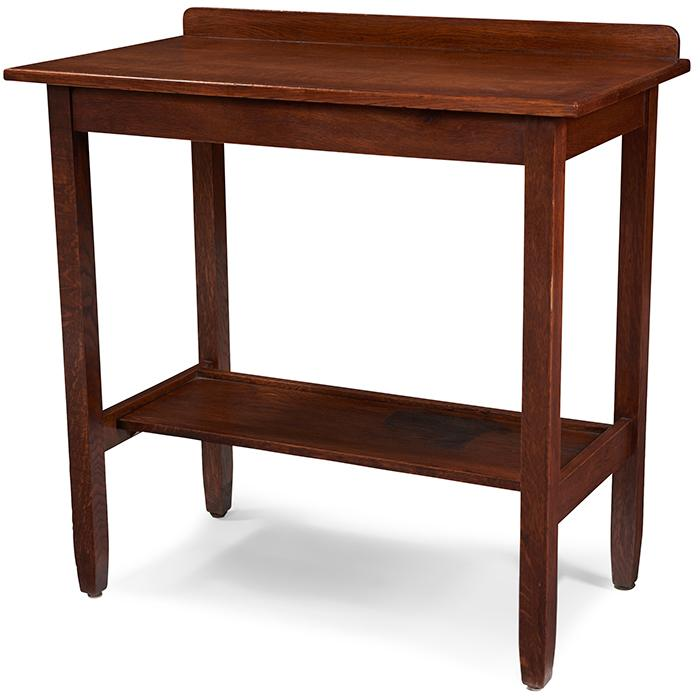 Stickley Brothers serving table, #8701 36