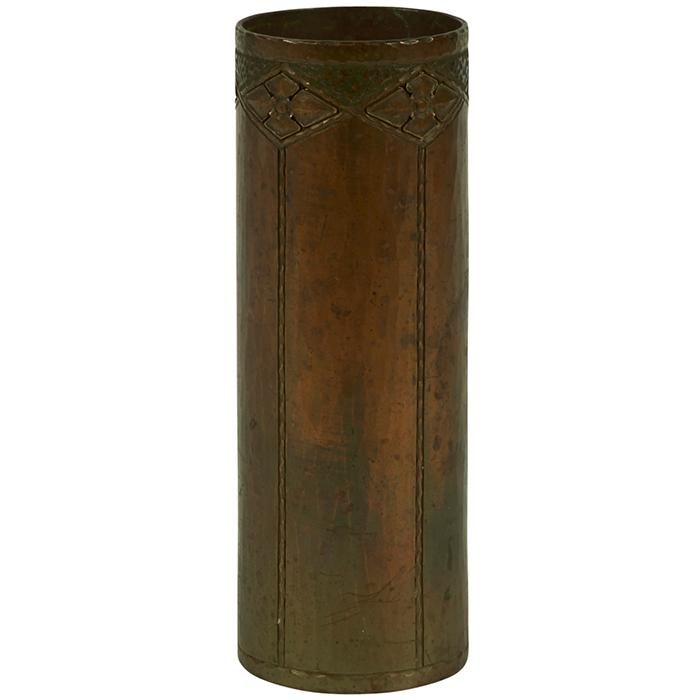 The Roycrofters cylinder vase, #202 2.5