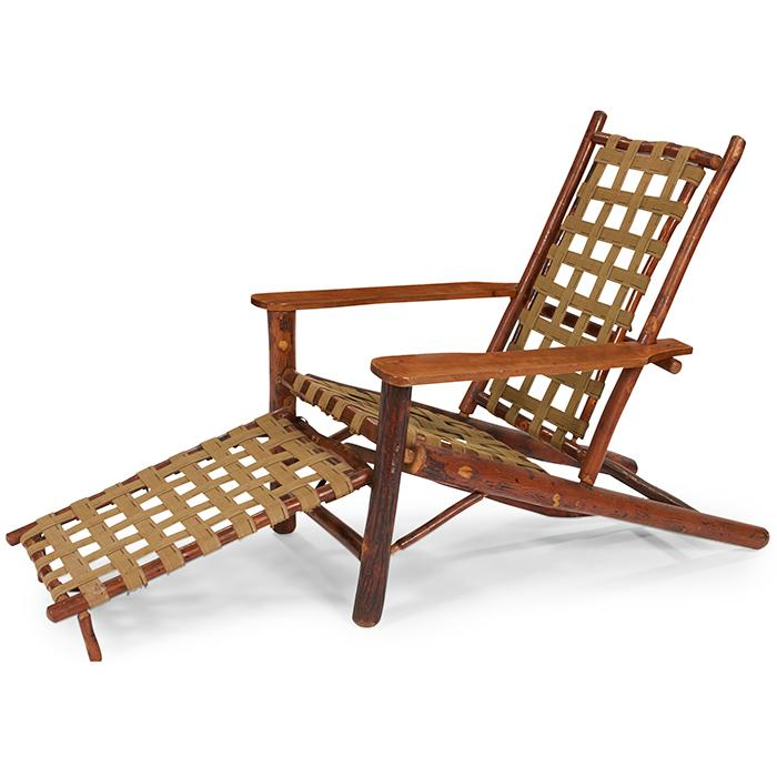 Old Hickory Adirondack chair, #147PC 28
