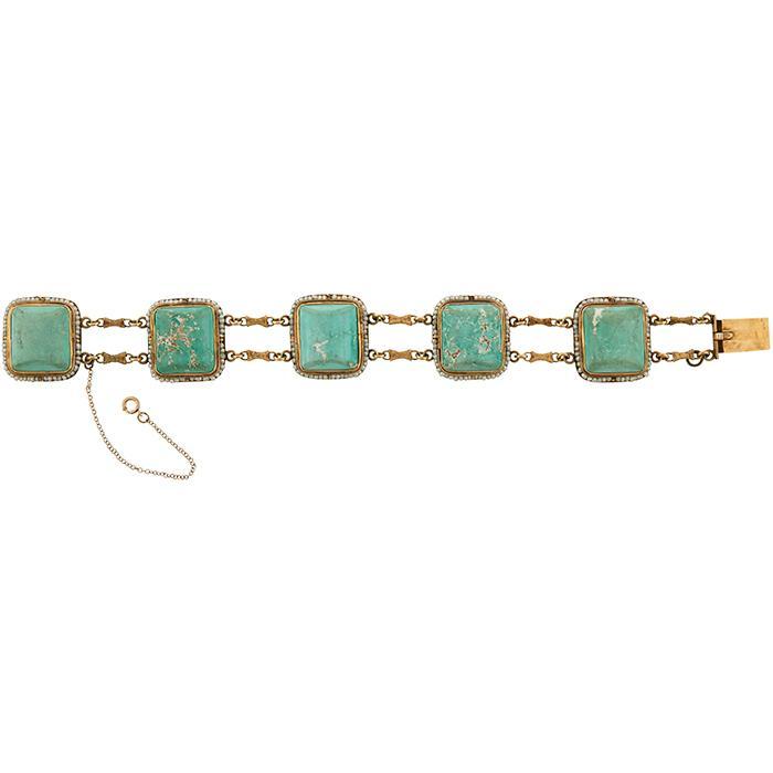 Arts & Crafts bracelet 7 1/4