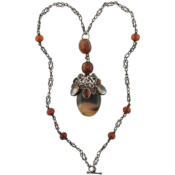Amy H. Sandheim pendant necklace pendant: 1 1/4