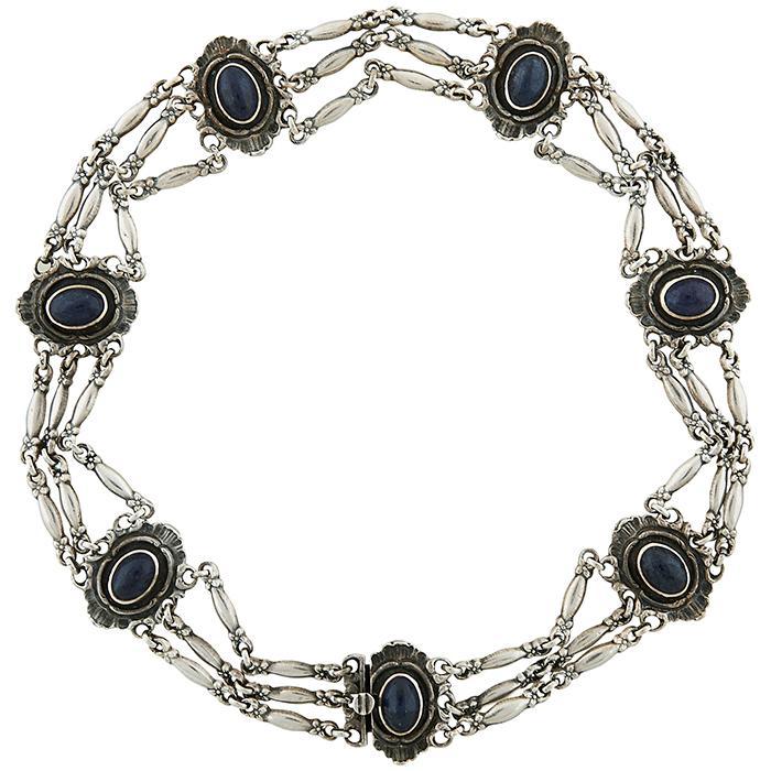 Ernst Gideon Bek Inc. choker necklace 5/8