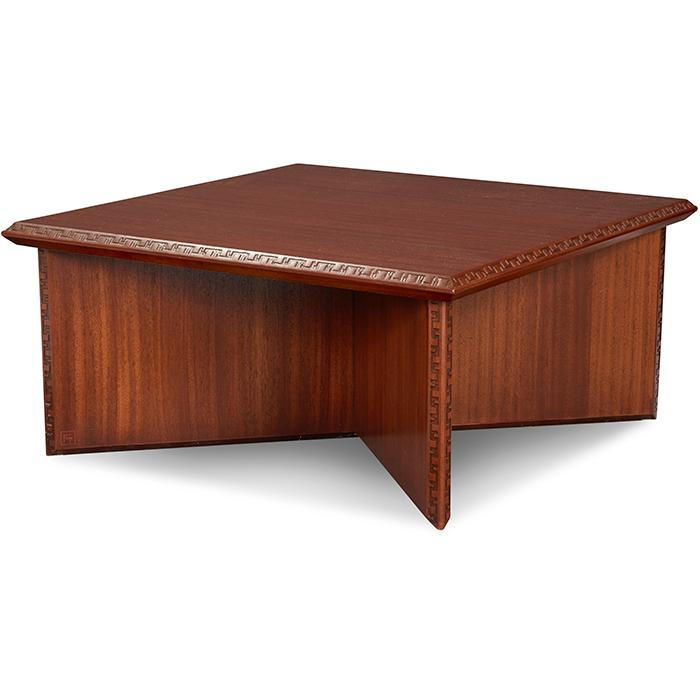 Frank Lloyd Wright (1867-1959) for Heritage Henredon coffee table 33