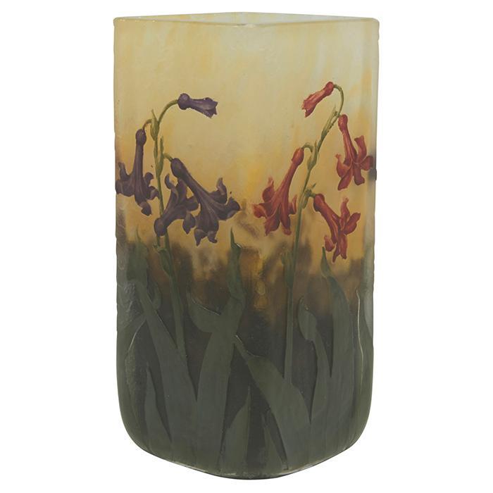 Daum Wild Hyacinth vase 2