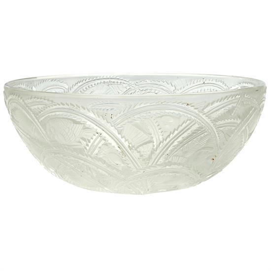Lalique Pinsons bowl 9