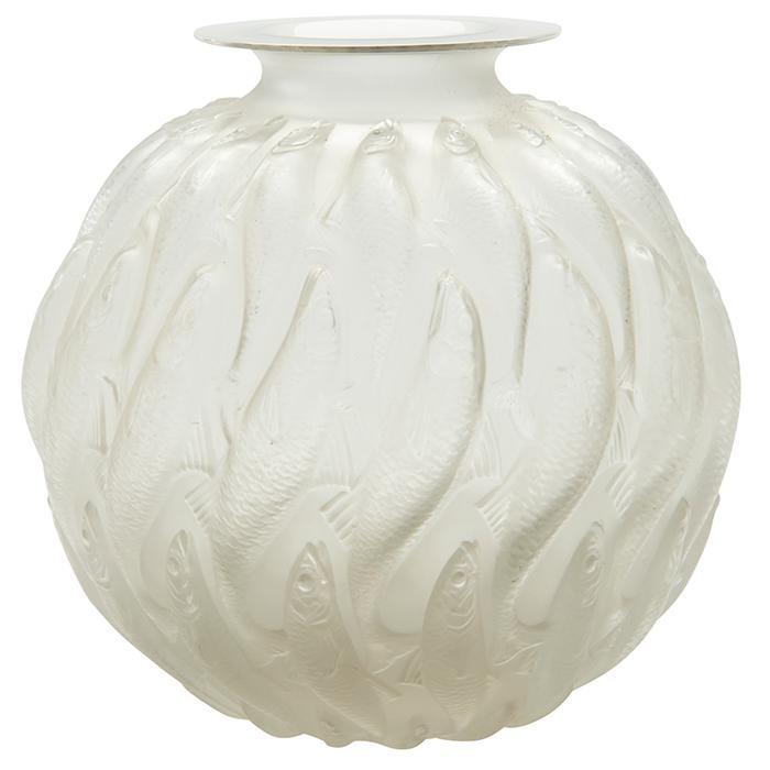 Rene Lalique (1860-1945) Marisa vase, #1022 9.5