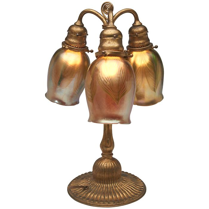 Tiffany Studios table lamp, #339 11