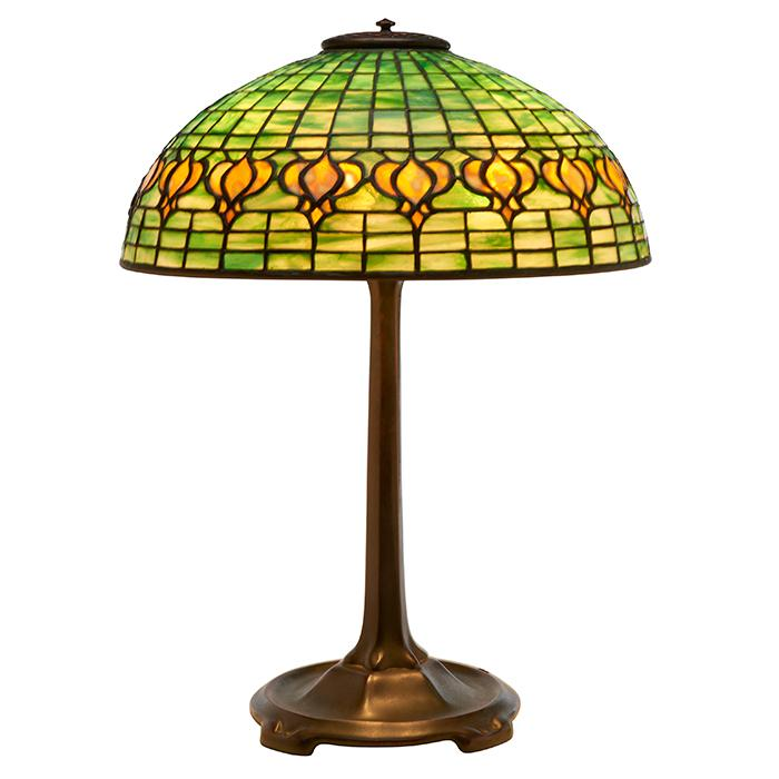Tiffany Studios Pomegranate table lamp: base, #533 16