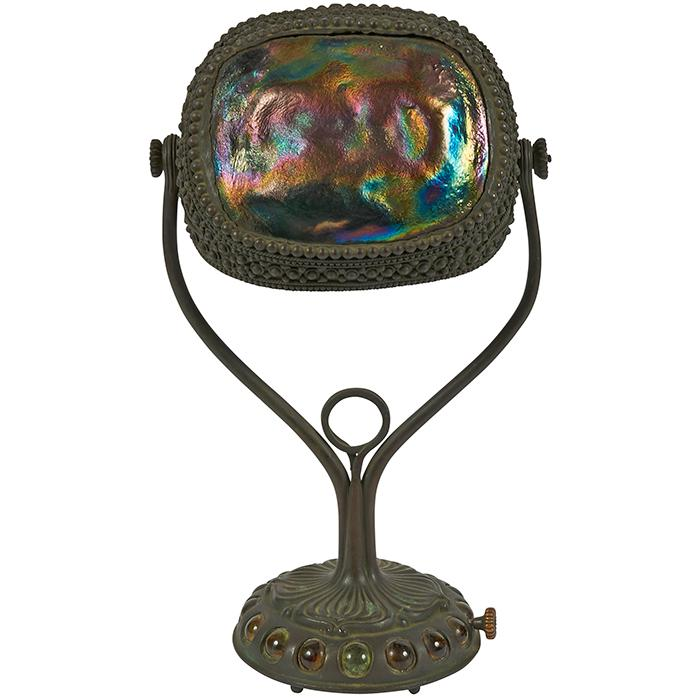 Tiffany Studios Turtleback desk lamp, #S1227 2 8