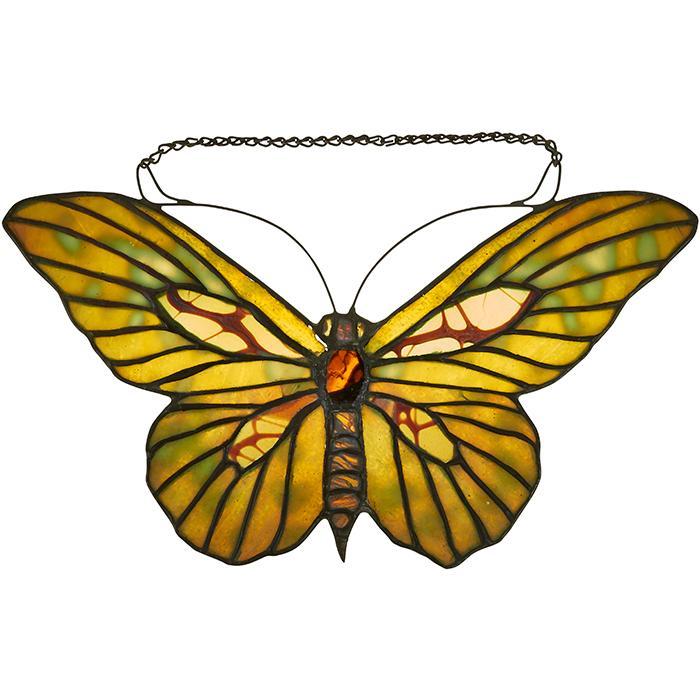 Tiffany Studios Butterfly lamp screen 11