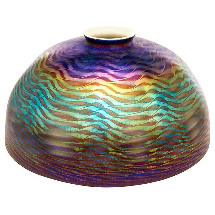 Louis Comfort Tiffany (1848-1933) Damascene lamp shade 9