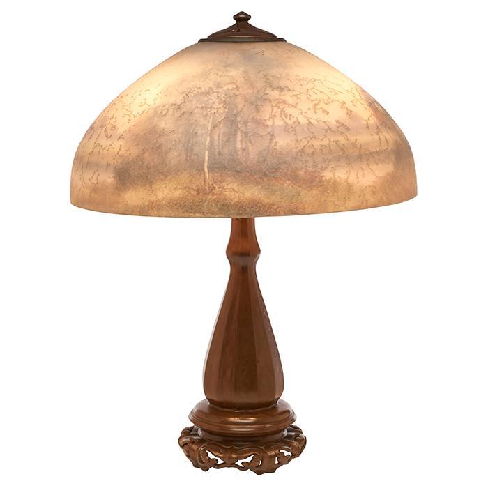 Handel Lamp Company Landscape table lamp 18