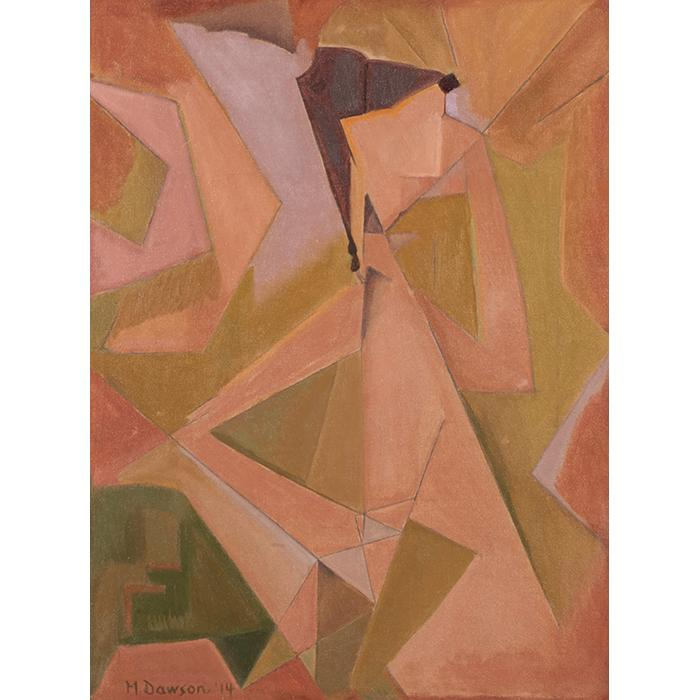 Manierre Dawson, (American, 1887-1969), Imogen, 1914, oil on canvas, 26