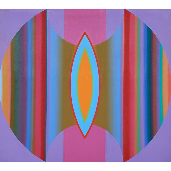 John Ferren, (American, 1905-1970), Fahalu No. 3, 1968, oil on canvas, 36