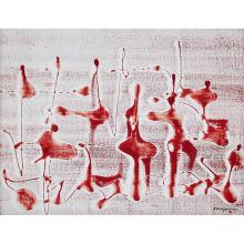 Paco Gorospe, (Filipino, 1939-2002), Untitled, 1972, mixed media on canvas, 18