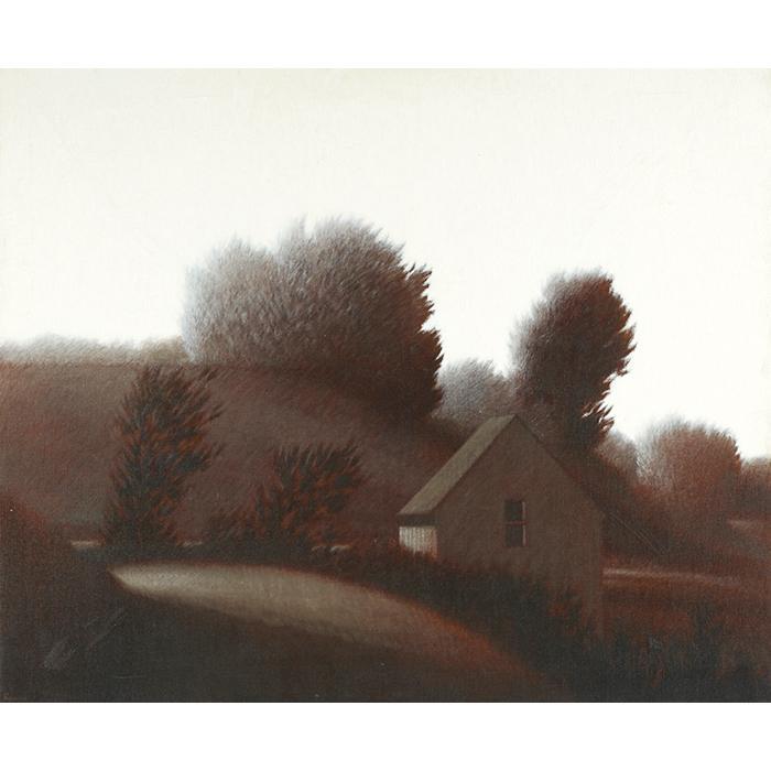 Robert Kipniss, (American, b. 1931), Landscape, oil on canvas, 30