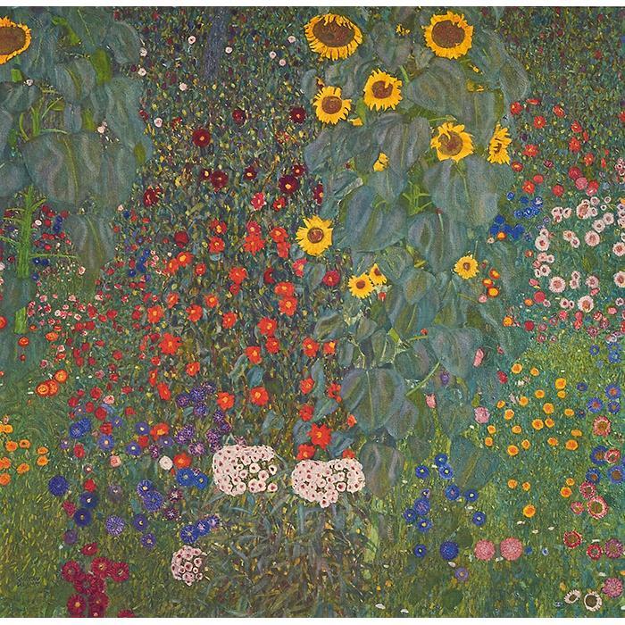 Gustav Klimt, (Austrian, 1862-1918), Sunflowers, 1931 (from An Aftermath), collotype, 12